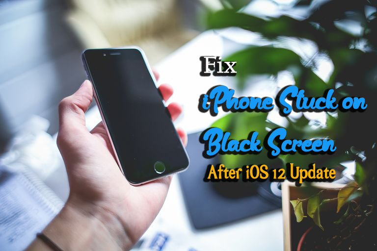 Top 5 Methods To Fix 'iPhone Stuck on Black Screen' After iOS 12 Update