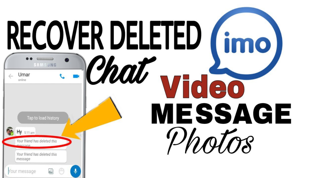 Recover Lost or Deleted IMO Chat Messages on Android