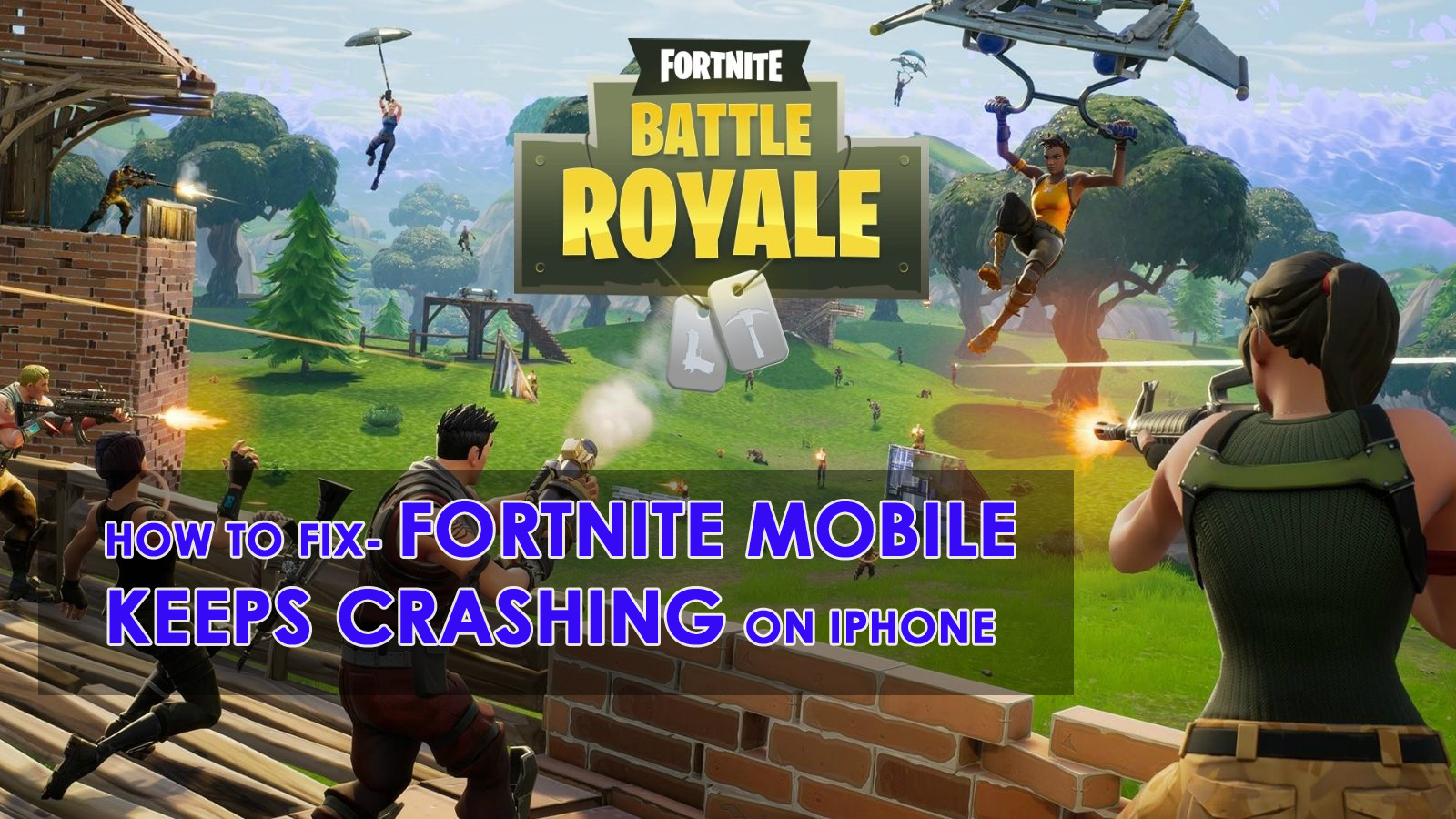 fortnite mobile keeps crashing on iphone xr xs xs max here is how to fix - problems with fortnite mobile