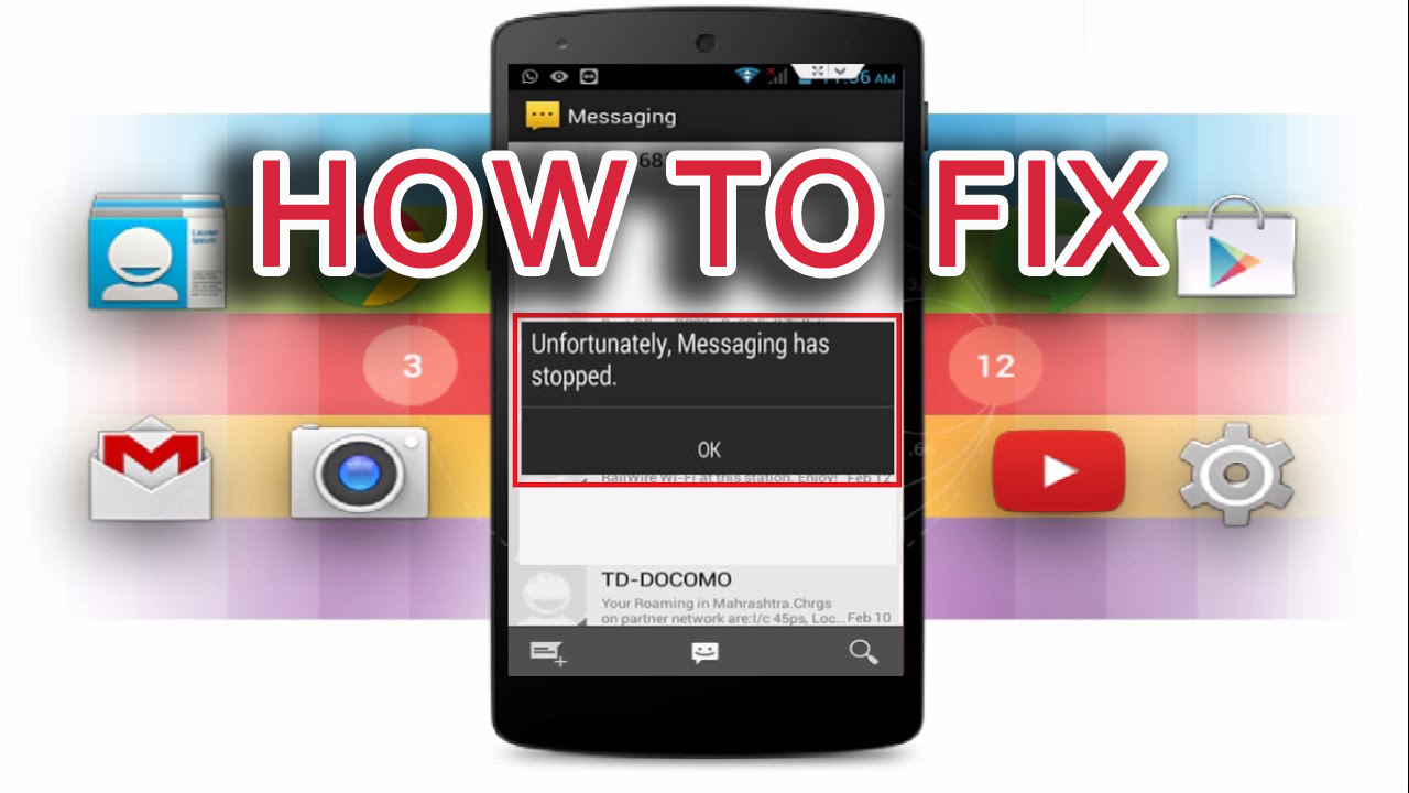 "[100% Working]- How to Fix ""Unfortunately, Messaging Has Stopped"" On Android"