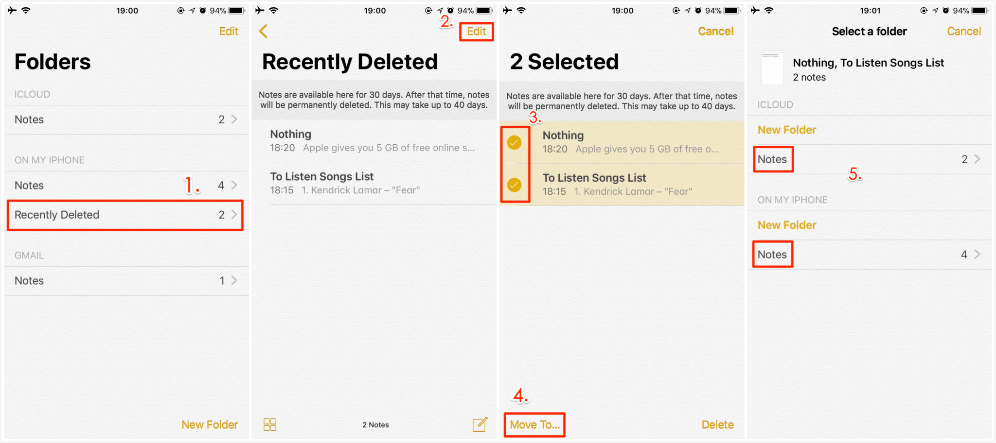 6 Simple Methods To Recover Accidentally Deleted Notes On