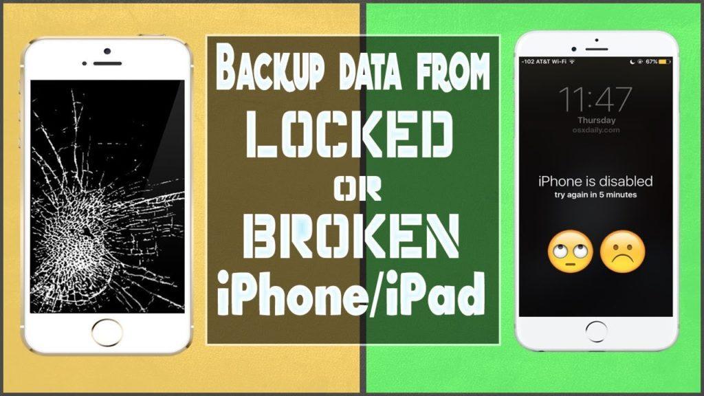 [4 Methods]- How To Backup iPhone With Broken Screen And Passcode