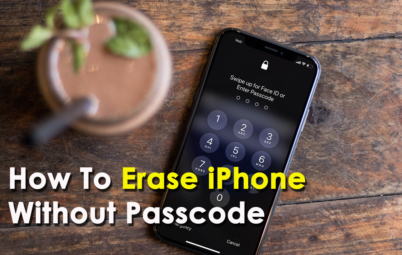 [3 Methods]- How To Erase iPhone Without Passcode (iPhone XR/XS/XS Max Supported)