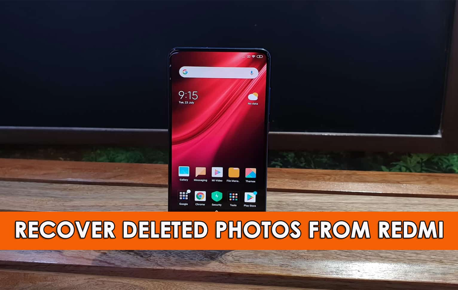 Recover Deleted Photos From Redmi