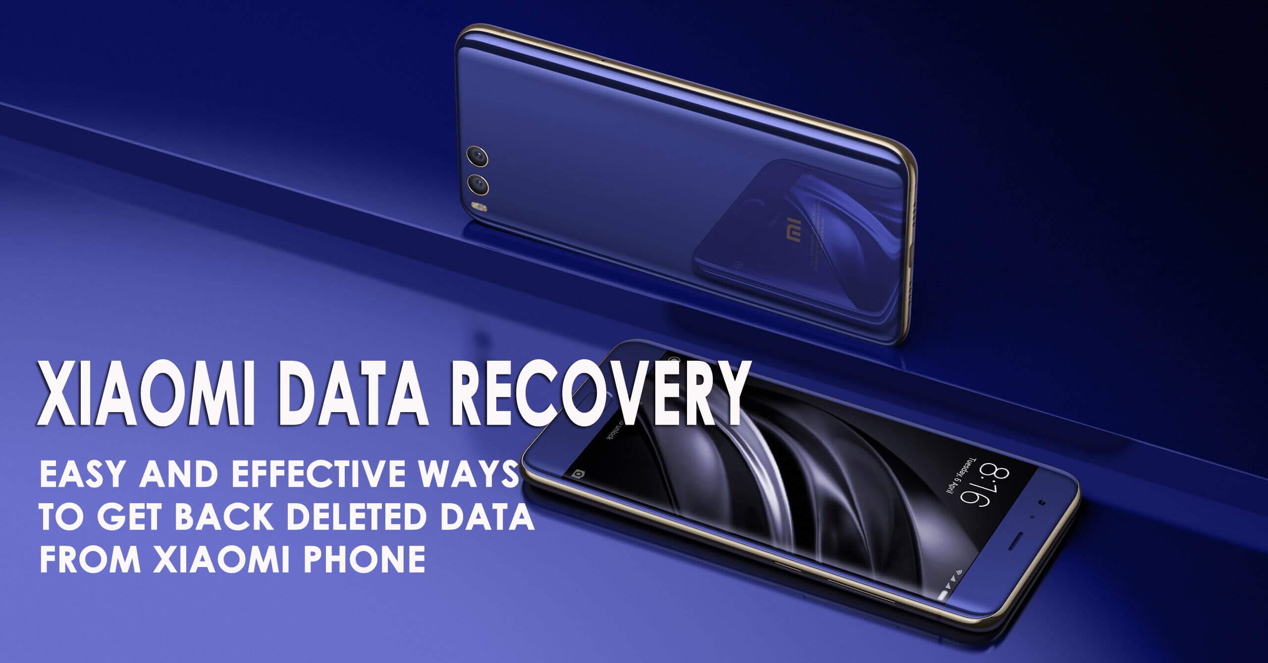 Xiaomi Data Recovery