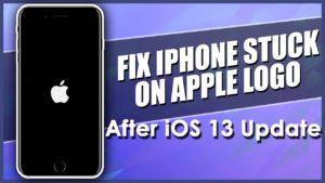 Fix iPhone Stuck On Apple Logo After iOS 13 Update