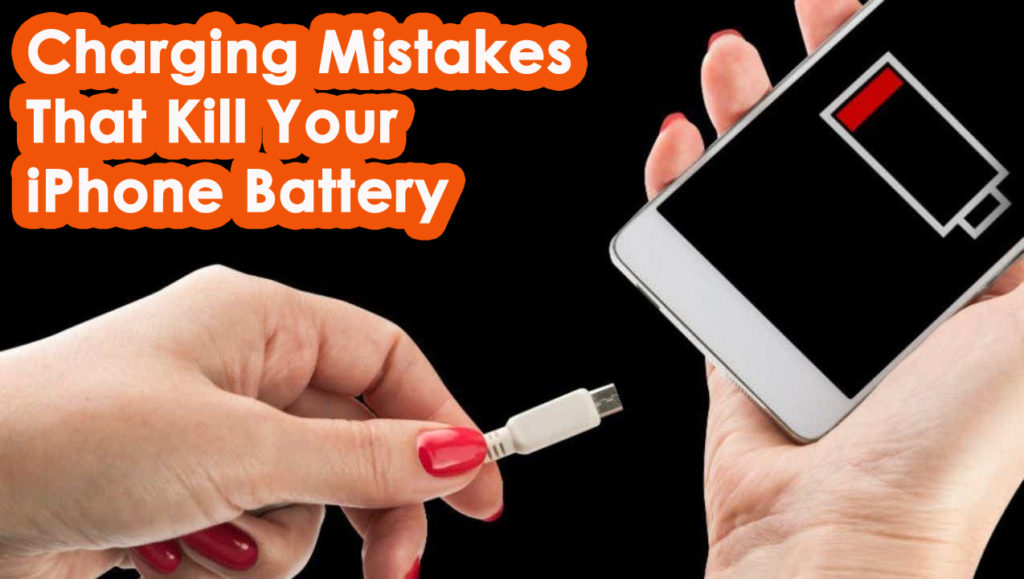 Charging Mistakes That Kill Your iPhone Battery