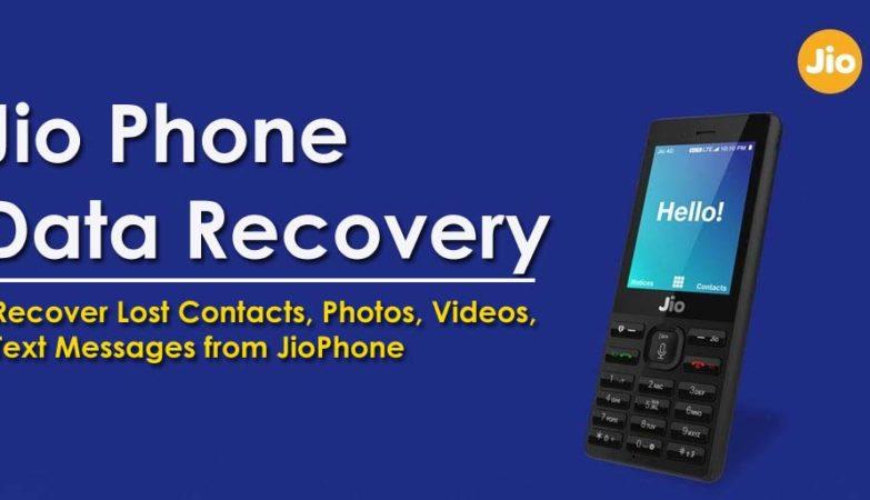 Jio Phone Data Recovery