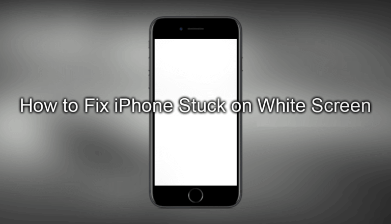 Fix 'iPhone Stuck On White Screen of Death'