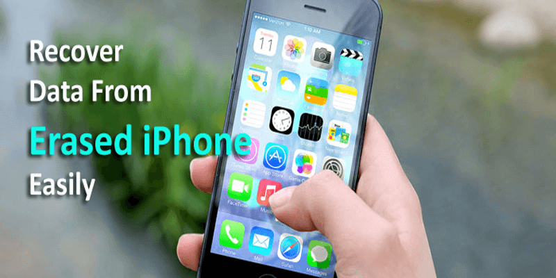 Recover Data From Erased iPhone